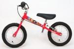 Красный велосамокат Yedoo Велосипед без педалей для малышей «TooToo» с ручным тормозом