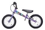 Фиолетовый велосамокат Yedoo Велосипед без педалей для малышей «TooToo» с ручным тормозом
