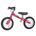 Малиновый велосамокат Yedoo Велосипед без педалей для малышей «TooToo» с ручным тормозом