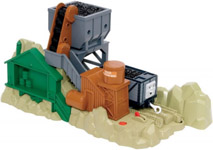 Горноугольная станция Sodor/Содор для детской интерактивной железной дороги Tomy/Томи из серии «Томас и его друзья»