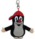 Брелок с карабином для ключей Moravska Мягкая игрушка «Крот в кепке» 11см.