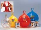 Гимнастический мяч для фитнеса Gymnic «HOP» диаметр 45 см. (fantasy)