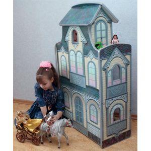 Домик для кукол барби сказочный